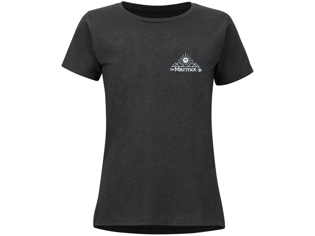 Marmot Arrow Camiseta Manga Corta Mujer, charcoal heather